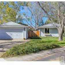 Rental info for 1732 Bedford Cir Fort Collins Three BR, Welcome Home!