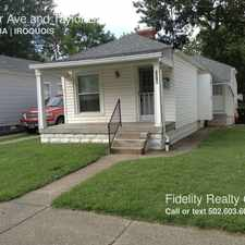 Rental info for 1319 Walter Ave in the Iroquois area