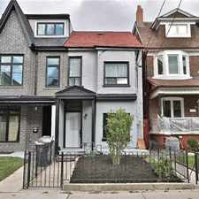 Rental info for 665 Crawford St in the Palmerston-Little Italy area