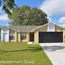 Rental info for 687 Reindeer Dr. in the Poinciana area
