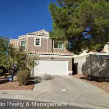 Rental info for 3301 Sonterra Circle in the Las Vegas area