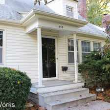 Rental info for 1433 Burr St in the Lincoln area