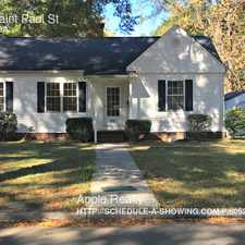 Rental info for 113 Saint Paul St in the Northgate Park area