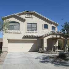 Rental info for 3-Bedroom, 2.5 Bathroom in Goodyear!