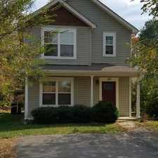 Rental info for 142 Liberty Street in the Asheville area