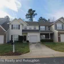 Rental info for 10709 Pendragon Place in the Raleigh area