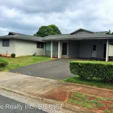 Rental info for 98-135 Puaalii Street
