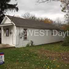 Rental info for Cozy 1 Bedroom 1 Bath Home! in the Xenia area