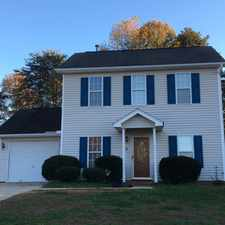Rental info for 6 Summit View Court in the Greensboro area