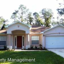Rental info for 49 Ponce DeLeon Drive in the 32164 area