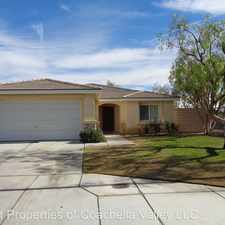 Rental info for 48998 CAMINO ROSARITO (JUST BEHIND INDIAN PALMS CO CLUB) in the Indio area