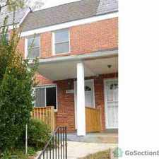 Rental info for 4823 Beaufort Ave in the West Arlington area