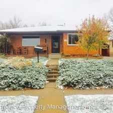 Rental info for 926 5th St. in the Golden area