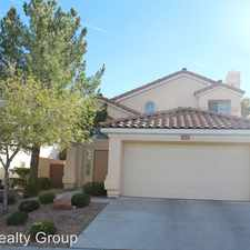 Rental info for 10229 Abano Court in the Sun City Summerlin area