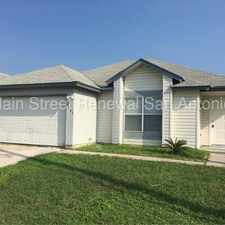 Rental info for 9803 Raven Field Drive in the San Antonio area