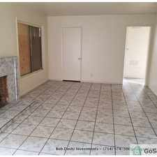 Rental info for 4-BED/2-BATH HOUSE WITH CENTRAL AIR, GARAGE, FENCED YARD in the San Bernardino area