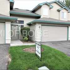 Rental info for NORTHWEST BOISE TOWNHOUSE. NO MAINTENANCE W/ POOL in the Winstead Park area