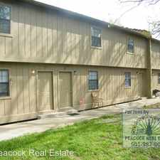 Rental info for 115F Eubanks Road in the Sherwood area