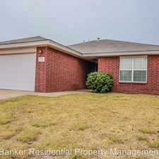 Rental info for 1820 79th in the Lubbock area