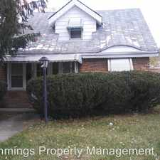Rental info for 5524 Grasmere in the Maple Heights area