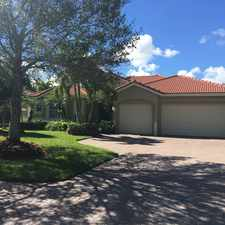 Rental info for 4956 Southwest Saint Creek Drive in the Palm City area