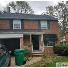 Rental info for Nice Brick Colonial in the Cleveland area
