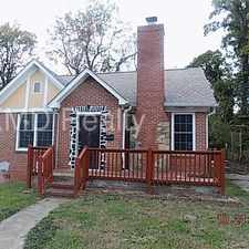 Rental info for 424 Woodvale Place in the Biddleville area