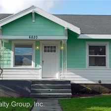 Rental info for 6820 S Puget Sound Ave in the South Tacoma area