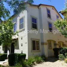 Rental info for Gilbert Town Home 2 Beds, 2 Baths Gilbert / Guadalupe in the Heritage District area