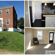 Rental info for Gorgeous Renovated 3 Bedroom End of Group Available Now in the Graceland Park area