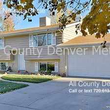 Rental info for 12813 East Nevada Circle in the Aurora Hills area