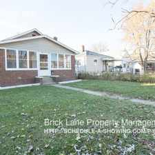 Rental info for 1520 N Grant Ave in the Indianapolis area