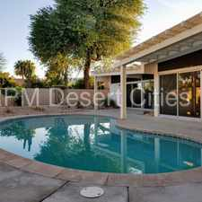 Rental info for Mid-Century 3 Bed 2 Bath in the Heart of Rancho Mirage in the Rancho Mirage area