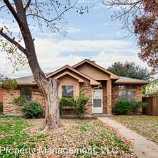 Rental info for 4005 David Dr in the Rowlett area