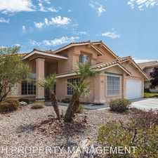 Rental info for 2724 Huber Heights Dr. in the Desert Shores area