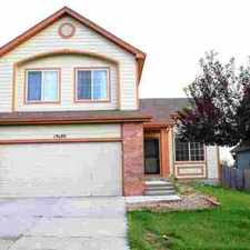 Rental info for 15380 March Place Denver Four BR, Great home on a very desirable