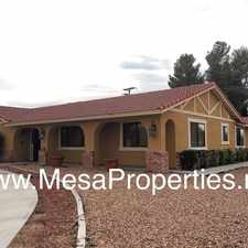 Rental info for Spacious 4 Bedroom 3 Bathroom home located in Apple Valley
