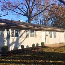 Rental info for 9808 CONWAY DRIVE in the Indianapolis area
