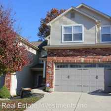 Rental info for 404 Willott Square Drive in the St. Peters area