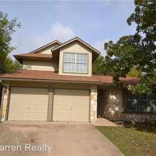 Rental info for 2410 Susan Lane in the Cedar Park area