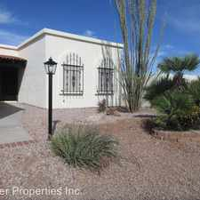 Rental info for 766 W Pairaiso Place in the Green Valley area