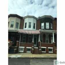 Rental info for West Baltimore 3 bedrooms in the Easterwood area