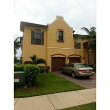 Rental info for SPACIOUS CORNER UNIT TOWNHOUSE, AT SILVER PALMS . 4 BED 2.5 BATH in the Princeton area