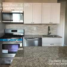 Rental info for 1402 Eutaw Place in the Baltimore area