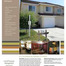 Rental info for 671 LAS PALMAS in the Hollister area