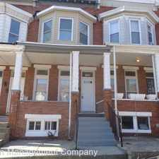Rental info for 1702 Moreland Ave. in the Coppin Heights area