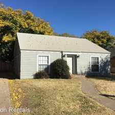 Rental info for 1914 25th Street in the Heart of Lubbock area
