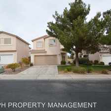 Rental info for 8820 Spinning Wheel Ave. in the Tule Springs area