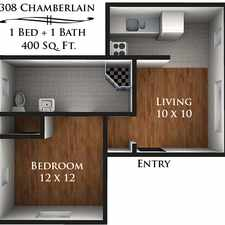Rental info for 308 Chamberlain Avenue