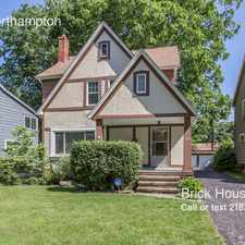 Rental info for 3963 Northampton in the Cleveland area